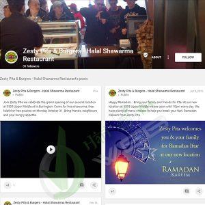 Zesty Pita & Burgers - Halal Shawarma Restaurant