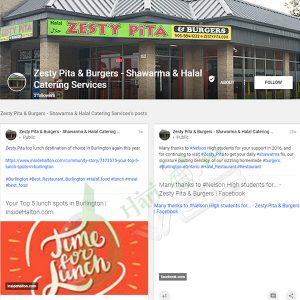 Zesty Pita & Burgers - Shawarma & Halal Catering Services